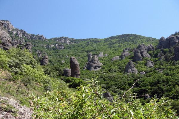 Долина Привидений и легенды Демерджи