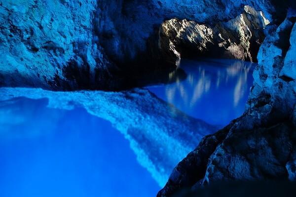 Дайвинг в Европе - Голубой грот Бишево в Хорватии