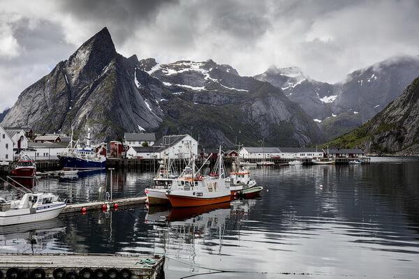 Дайвинг в Европе - Лофотенские острова в Норвегии