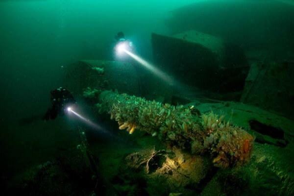 Дайвинг в Европе - Скапа-Флоу на Оркнейских островах в Шотландии