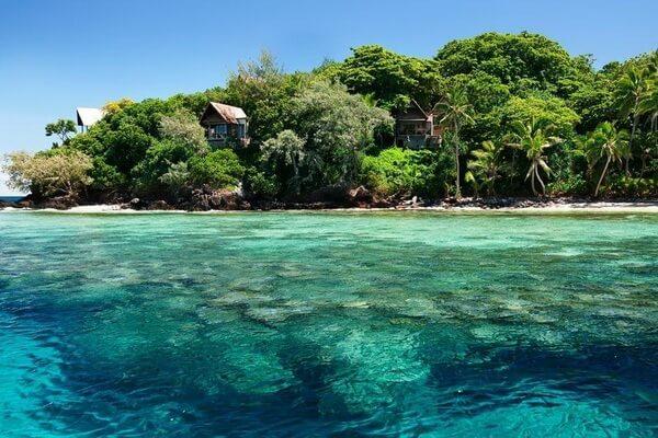 Лучшие места для дайвинга на Фиджи - Остров Бека