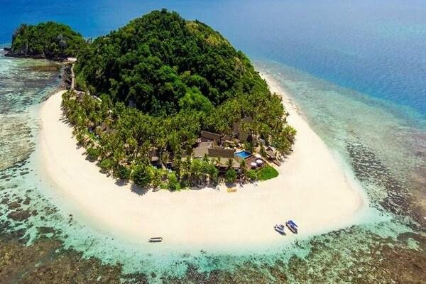 Лучшие места для дайвинга на Фиджи - Остров Маманука