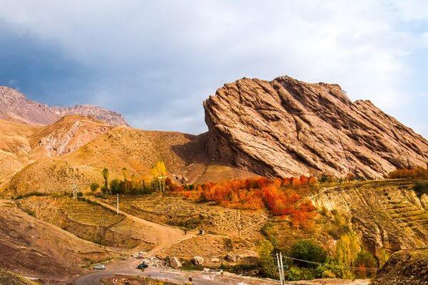 Самые красивые долины Ирана с фото и описанием - Аламутская долина (долина Аламут)