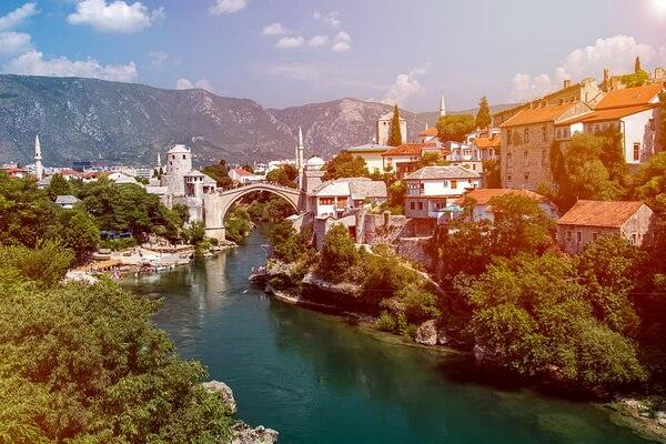 Достопримечательности Мостара с фото - Старый мост Мостара