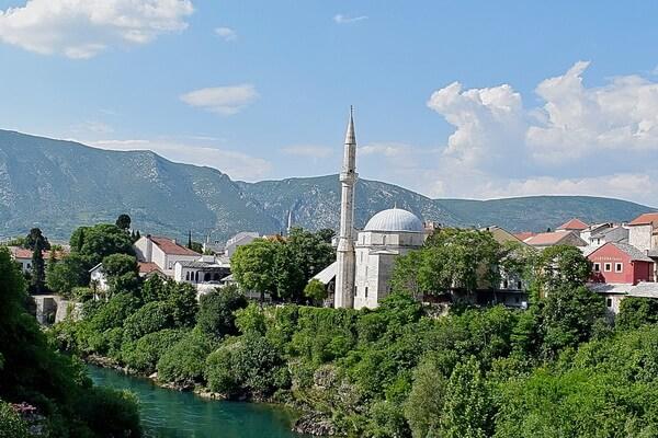 Достопримечательности Мостара с фото - Мечеть Коски Мехмед-паши