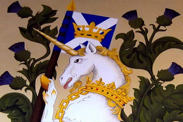 Единорог - символ Шотландии