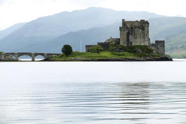 Легенды замка Эйлен-Донан в Шотландии
