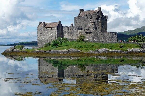 Замки Шотландии - Эйлен-Донан