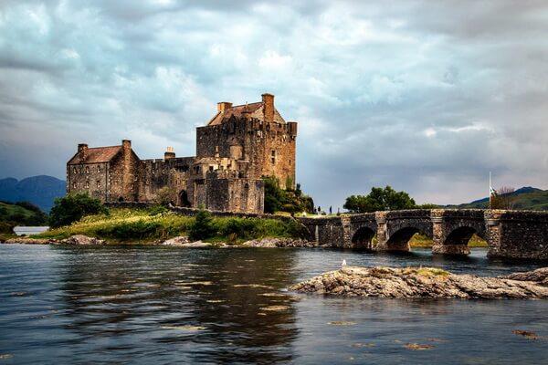 Замок Эйлен-Донан в Шотландии - красивые фото