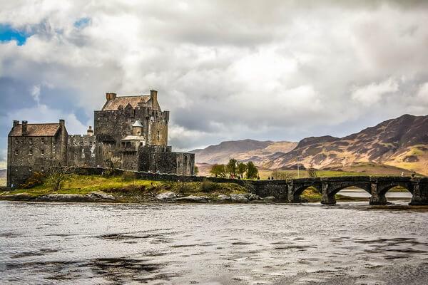 Как добраться в замок Эйлен-Донан в Шотландии - советы туристам