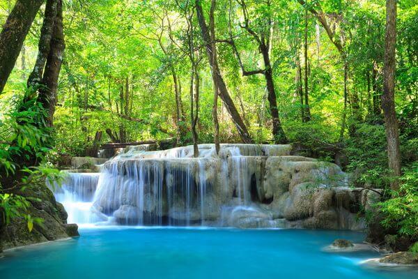 Отдых у водопада Эраван