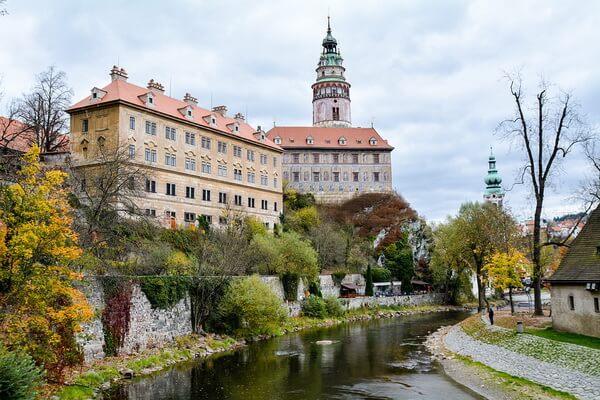 Сказочные города и деревни Европы - Чески-Крумлов в Чехии