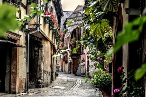 Сказочные города и деревни Европы - Кольмар во Франции