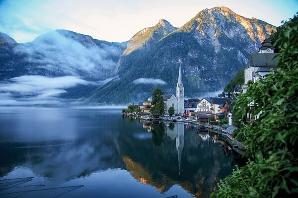 Сказочные города и деревни Европы - Гальштат в Австрии