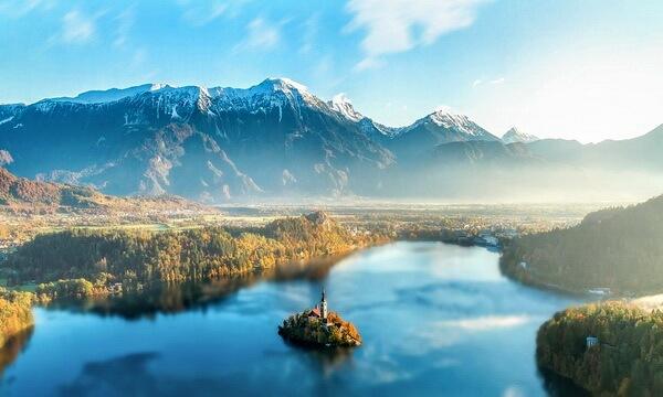 Сказочные города и деревни Европы - Блед, Словения