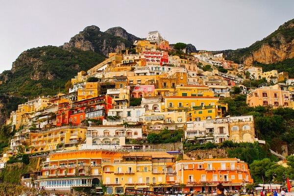 Сказочные города и деревни Европы - Позитано в Италии