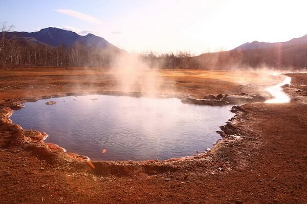 Известные гейзерные поля - Долина гейзеров на Камчатке