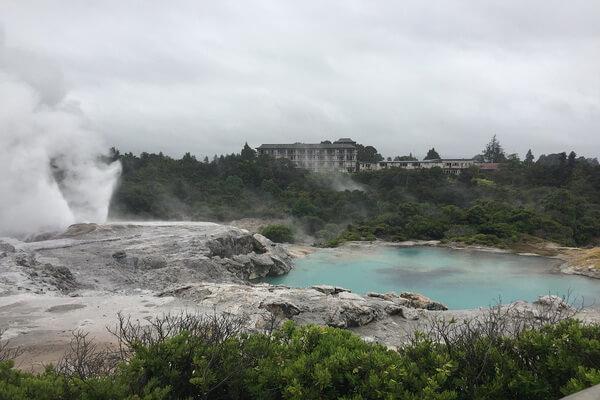 Гейзеры мира - Геотермальная зона Таупо в Новой Зеландии