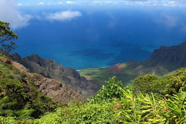 Фантастические пейзажи - «Парк Юрского периода» на гавайском острове Кауаи