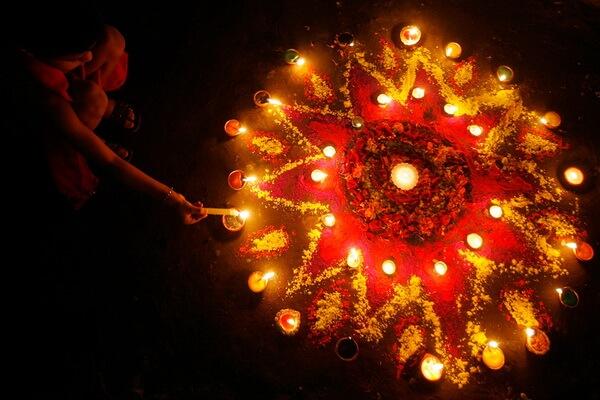 Как празднуют Дивали в Индии