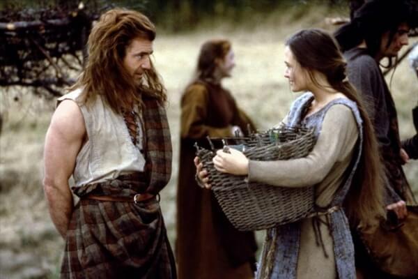 Исторические фильмы про Шотландию - Храброе сердце (1995)