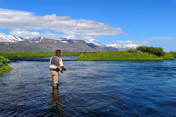 Рыбалка в Исландии - Река Лакса (Laxa River) в Миватне
