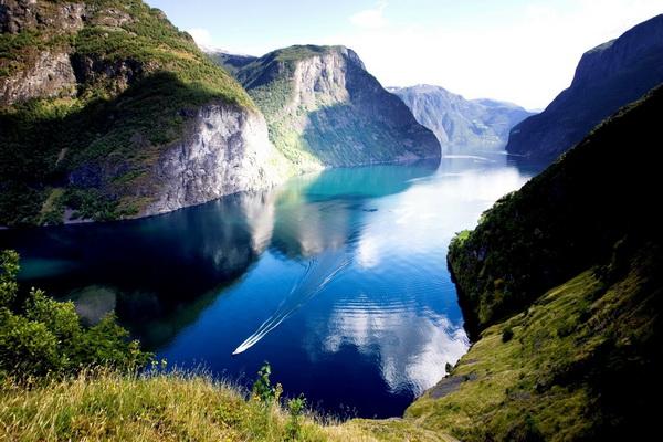 Красивые фьорды Норвегии с фото - Нерёй-фьорд