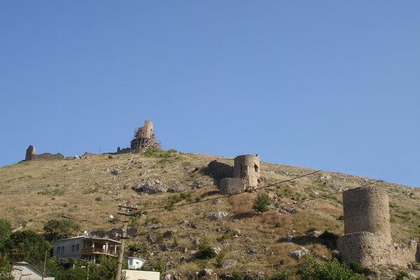Крепость Чембало - особенности генуэзской архитектуры