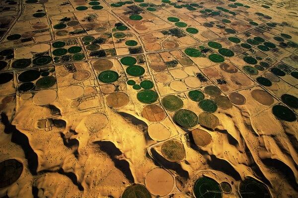Фотографии с высоты полёта, сделанные Яном Артюс-Бертраном