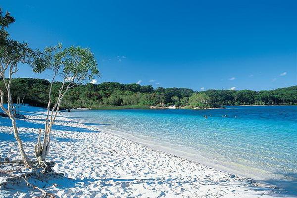 Белые пляжи острова Фрейзер