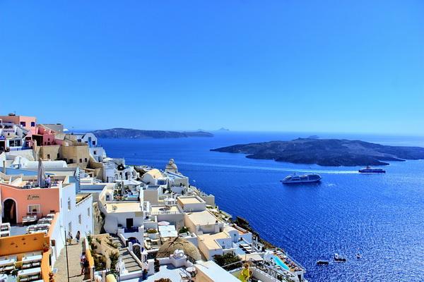 Вероятные места, где существовала Атлантида - Санторини в Греции