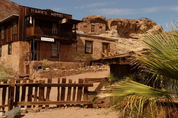 Города-призраки США с фото и описанием - Калико в Калифорнии