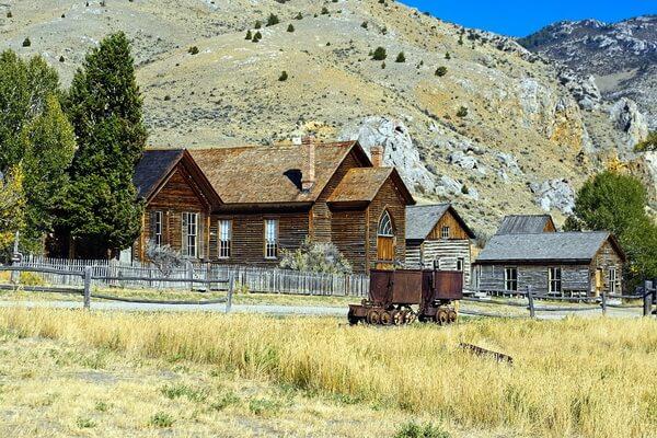 Города-призраки США с фото и описанием - Баннак в Монтане