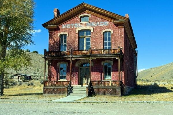 Города-призраки США с фото и описанием - Баннак (Монтана)