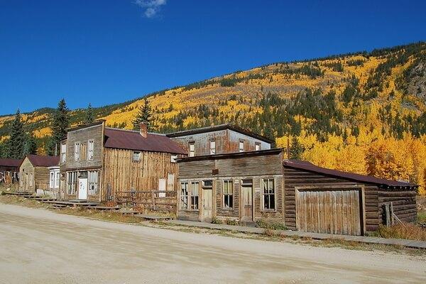 Города-призраки США с фото и описанием - Сейнт-Эльм в Колорадо