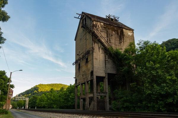 Города-призраки США с фото и описанием - Термонд в Западной Виргинии