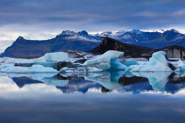 Ватнайёкюдль - крупнейший ледник Исландии