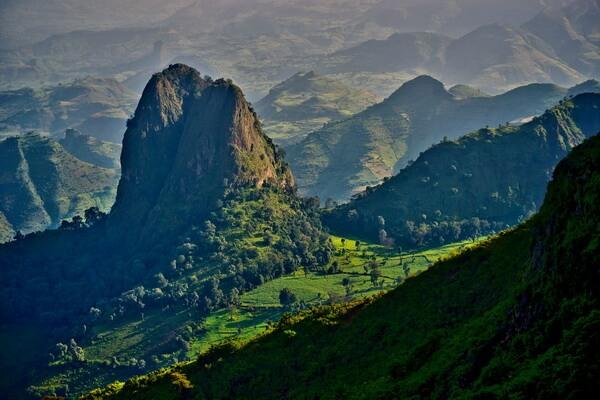 Рас-Дашэн - самая высокая гора Эфиопии