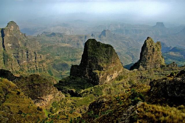 Горы Эфиопии - самые высокие вершины страны