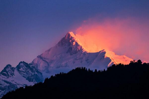 Самые высокие горы Непала с фото и описанием - Канченджанга