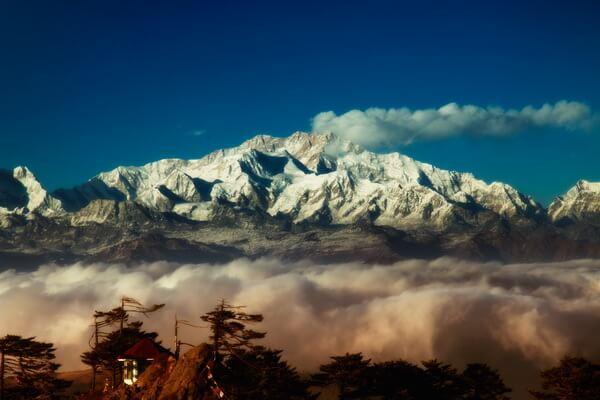 Самые высокие горы Индии и Непала с фото и описанием - Канченджанга