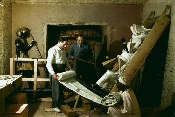 Археологические раскопки и открытия Говарда Картера в Египте