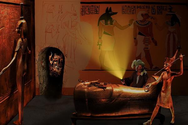 Археолог Говард Картер и гробница Тутанхамона