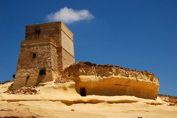 По следам пиратов - Крепость на острове Гозо, Мальта