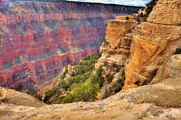 Гранд-Каньон в штате Аризона в США - красивые фото