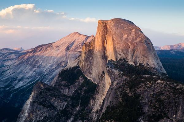 Скалолазание в Йосемити - Скала Хаф-Доум (Half Dome)