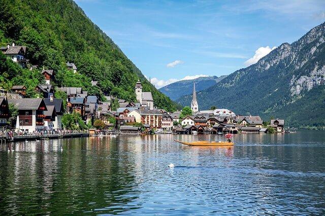Гальштат в Австрии - сказочный городок