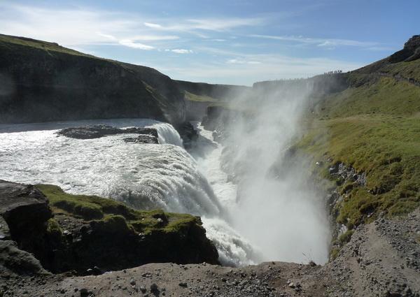 Долина Хаукадалур в Исландии
