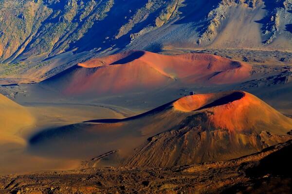 Самые высокие горы на Гавайях - Халеакала