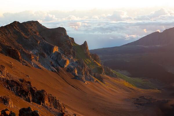 Горы Гавайских островов - Халеакала